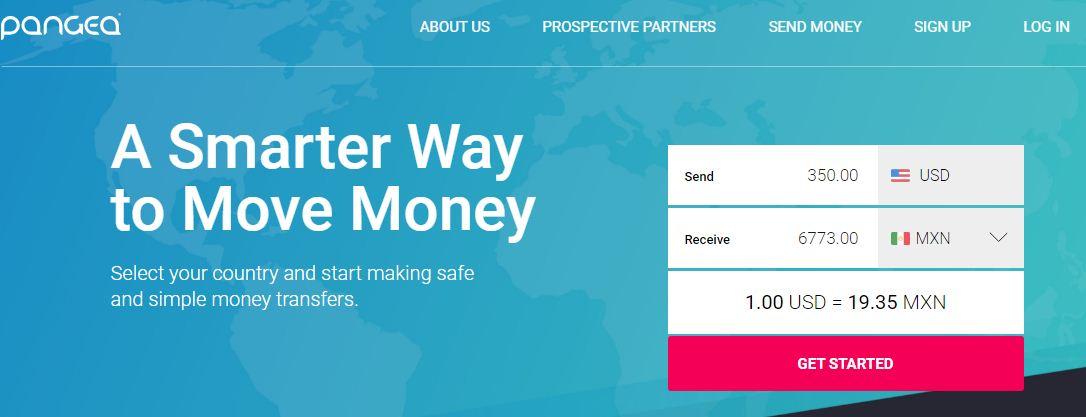 Recensioni Pangea Money Transfer