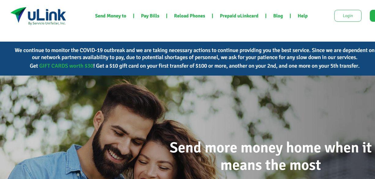Recensioni uLink Money Transfer